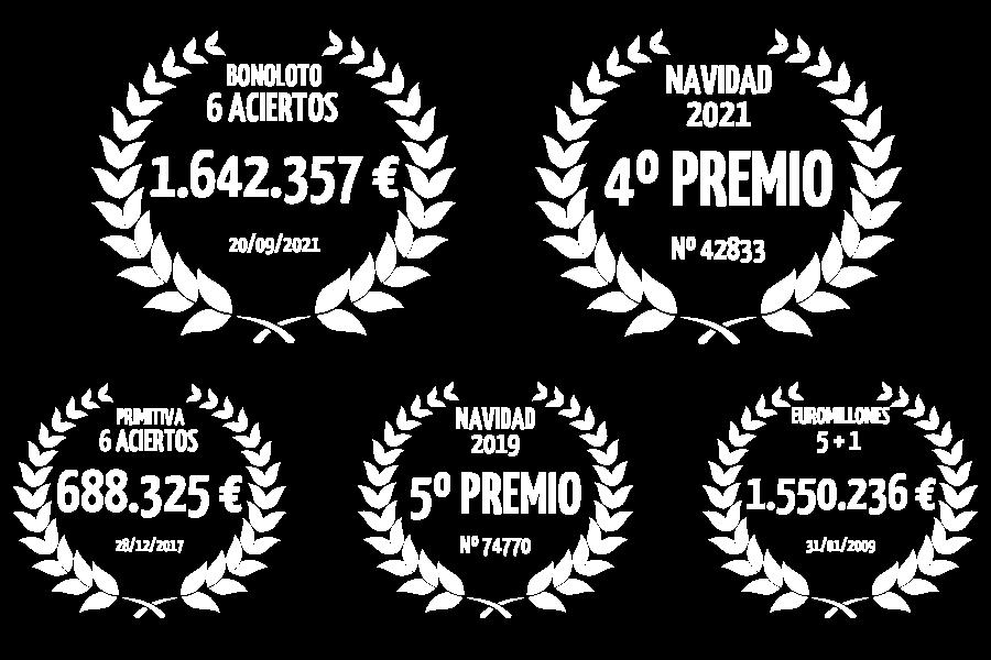 Grandes Premios repartidos en Lotería Sort Aventura